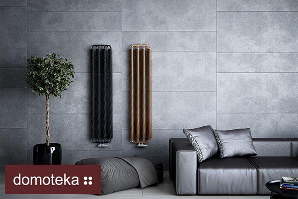 Proste, niemal w surowym stylu, jednocześnie bardzo eleganckie – tak w skrócie można opisać dekoracyjne grzejniki Aleotti. Będą doskonałym uzupełnieniem salonu utrzymanego w metalicznych odcieniach, przy okazji stanowiąc niebanalną ozobę.