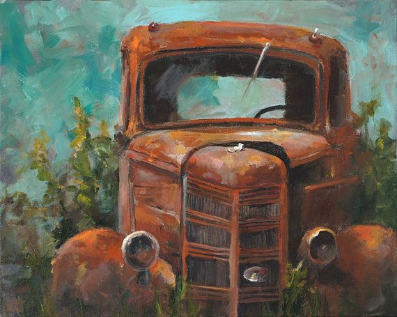 Hey, I found this really awesome Etsy listing at https://www.etsy.com/listing/465692781/sale-truck-painting-memories-xl-canvas