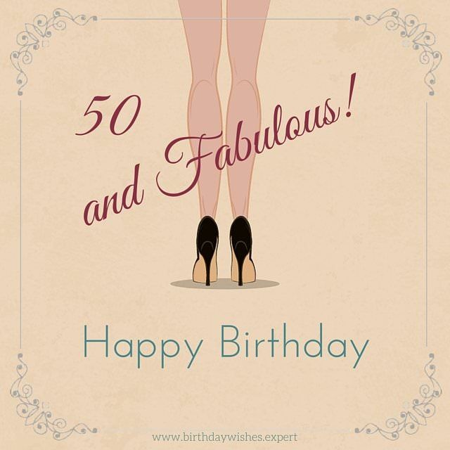 Happy 50th Birthday 50 50 Fun Sweet And Inspiring Birthday Wishes 50th Birthday Quotes 50th Birthday Wishes Happy 50th Birthday