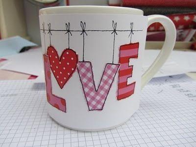 Love Sharpie Mug