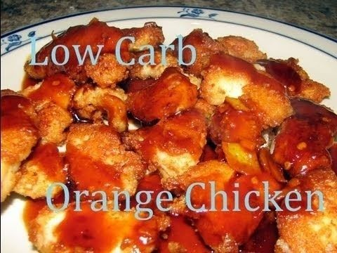 Atkins diet recipes low carb chinese orange chicken for Atkins quick cuisine bake mix