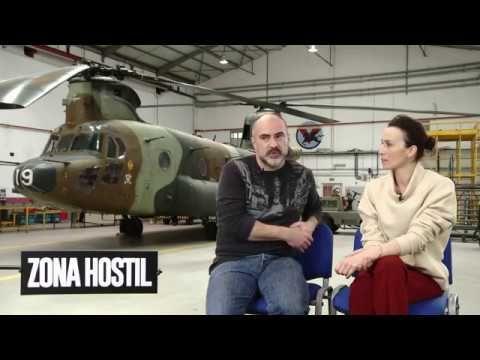 ZONA HOSTIL - Entrevista Ariadna Gil y Adolfo Martínez (director) - Estreno 10 de marzo - YouTube