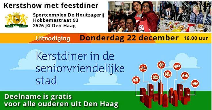 22 Dec – Kerstshow met feestdiner – De seniorvriendelijke stad Den haag - http://www.wijkmariahoeve.nl/kerstshow-met-feestdiner/