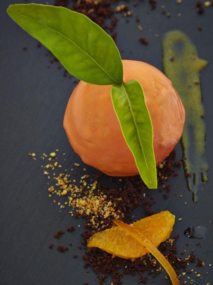 Sóller orange chocolate mousse