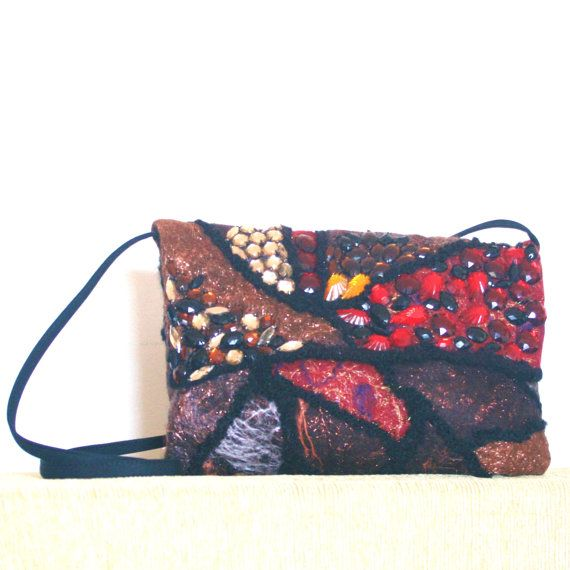 "WOOL CROSSOVER PURSE Beaded Design body strap 46 C M.  $28   ""GENUINE SALE "" 60% and more OFF the Original Price, on MOST items! I have REDUCED PRICES on Everything"" Except my latest Pieces!""  I am still Adding more WEEKLY ,and I like to change around my stock and keep it Fresh!  https://www.etsy.com/au/your/shops/FELTBYNARELLE"