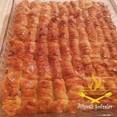 Cevizli Burma Tatlısı Tarifi - Afiyetli Sofralar - Yemek Tarifleri