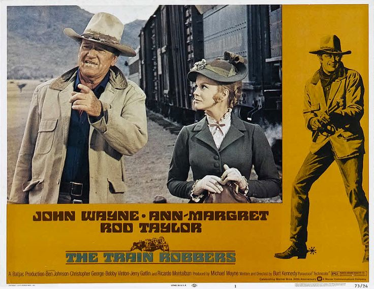 A gunhand named Lane is hired by a widow, Mrs. Lowe, to find gold stolen by her husband so that she may return it and start fresh. ... John Wayne, Ann-Margret, Rod Taylor.