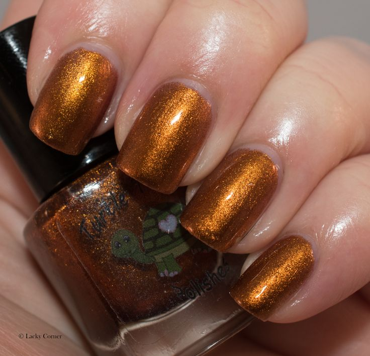 Lacky Corner: ABC Challenge - T = Turtle Tootsie Polishes - Smashed Pumpkins