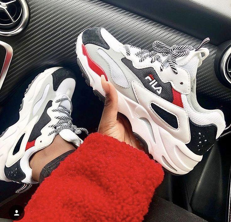 Fila is definitely making a comeback ladies.   sneakers in ...