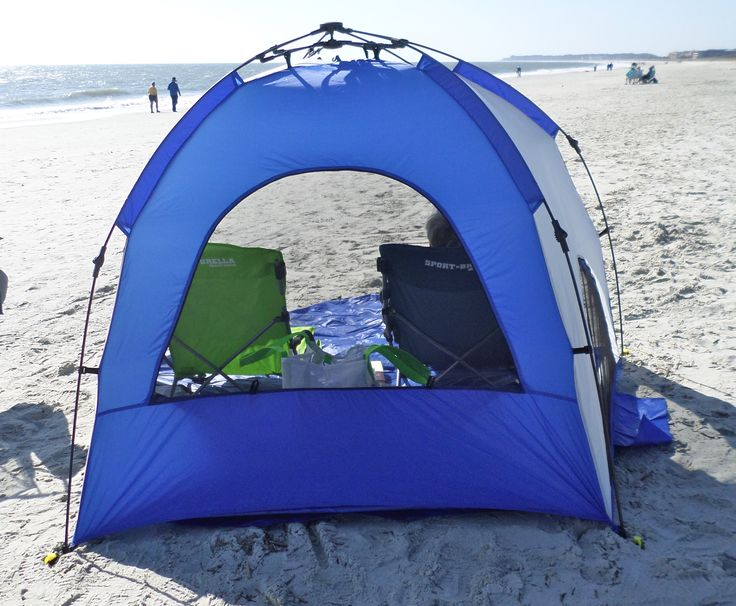 This pop up beach tent has screens that can be opened or closed. Open them & 13 best Quick and Easy Beach Pop Up Tent images on Pinterest ...