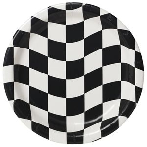 20419944 - Checkered Luncheon Plates Please note: approx. 14 day delivery time. www.facebook.com/popitinaboxbusiness