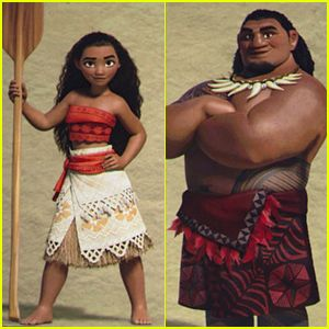 Disney Shows 'Moana' Character Pics At D23 Expo – See Them Here!
