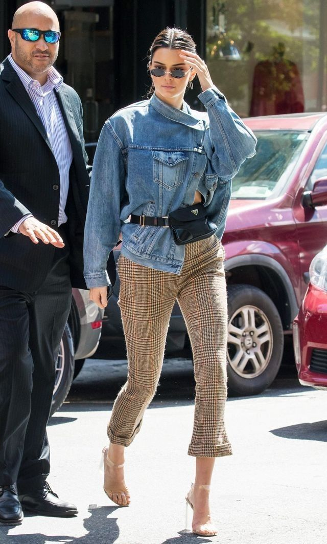 e9cb254967e Kendall Jenner spotted out in New York September 9th