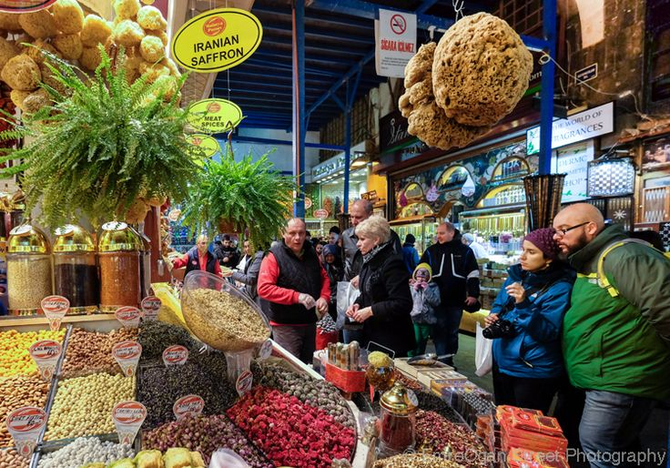 One of the largest bazaars in Istanbul is a feast for the senses.