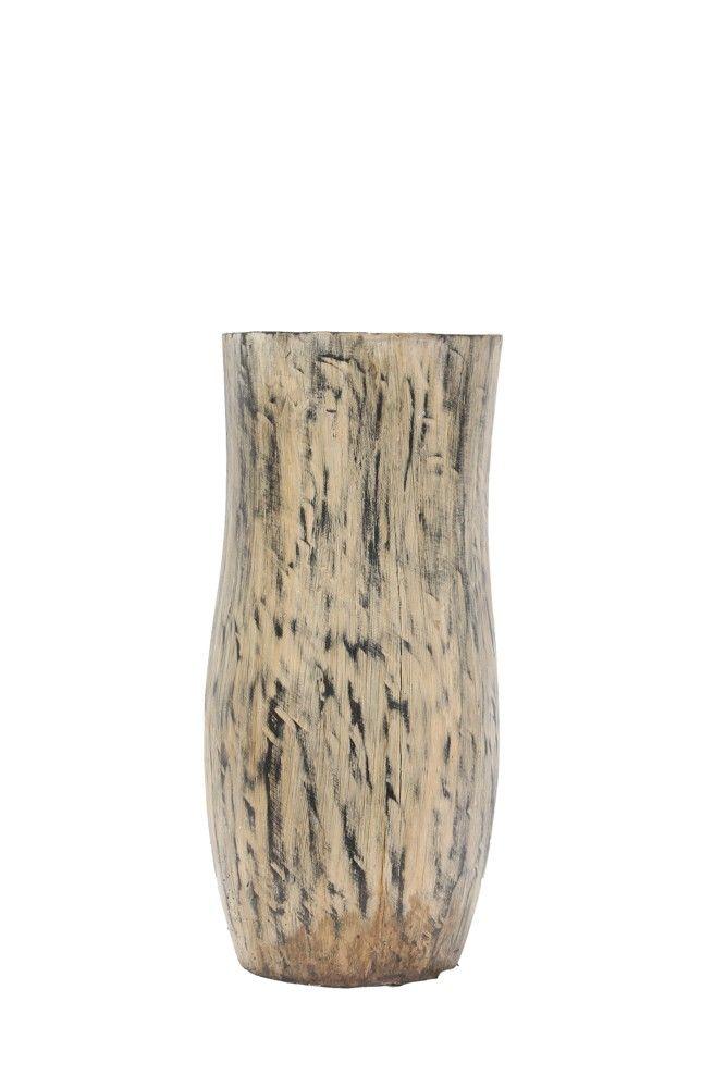 Komodo Antique Tan Flower Vase (OPAL 05)