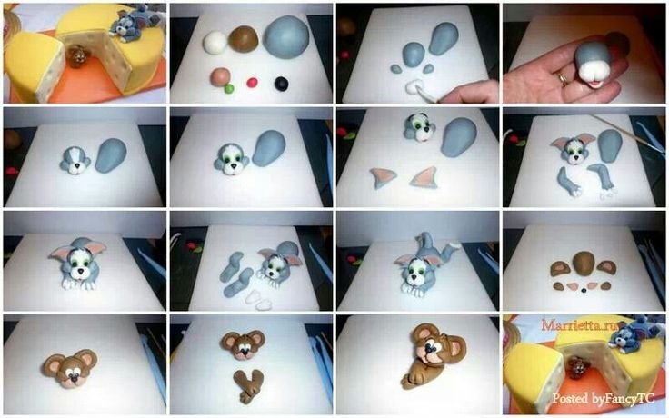 39 Best Images About Tom And Jerry Cake On Pinterest