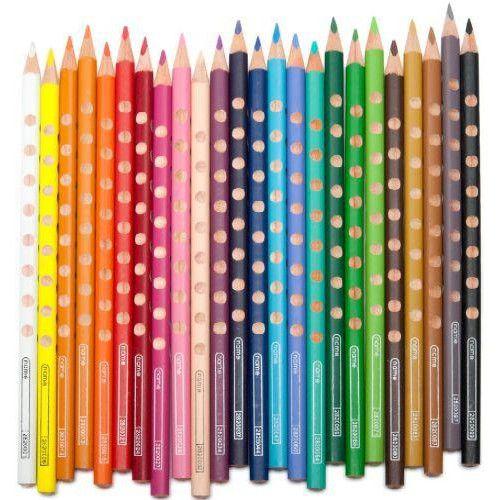 Lyra Groove Slim 24 darabos háromszög alakú színes ceruza készlet ajándék hegyezővel Ft Ár 2,399