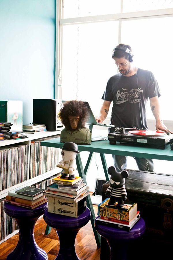 The House Of DJ Pil Marques In São Paulo #interior #design #missdesign #