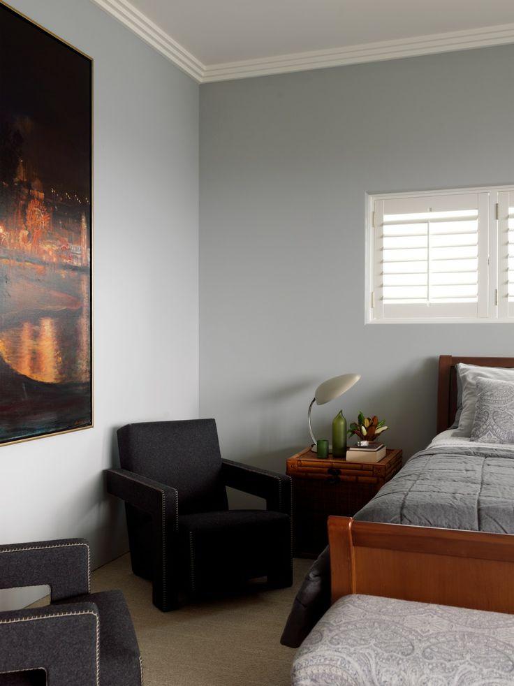 Bedroom Detail - Cremorne House by Decus