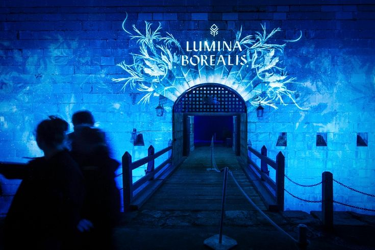 Lumina Borealis...a beautiful winter attraction, Old Fort Henry Kingston Ontario