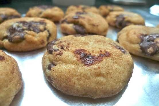 CHOCOLATE CHIP SNICKERDOODLES | Food! ( I would eat it) | Pinterest