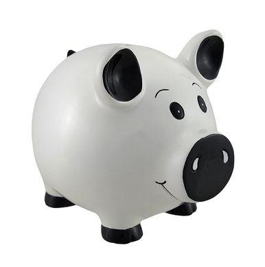 White Piggy Coin Savings Piggy Bank