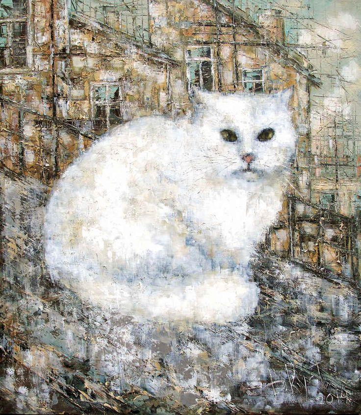 Немного котов от Дмитрия Кустановича Теперь и в открытках!  Все репродукции, доступные к покупке, можно посмотреть в нашем онлайн каталоге 👉 http://artistina.ru/1  #кустанович #kustanovich #посткроссинг #postcrossing #открытки #открытка #кот #cat