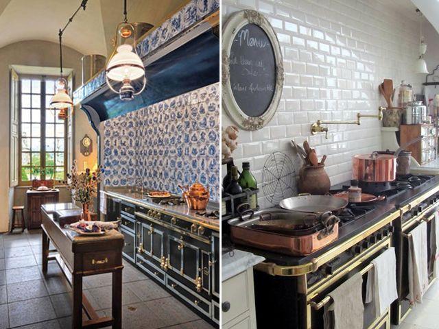 15 must see la cornue pins stoves white marble kitchen. Black Bedroom Furniture Sets. Home Design Ideas