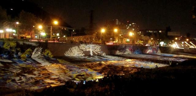 El Rio Mapocho,