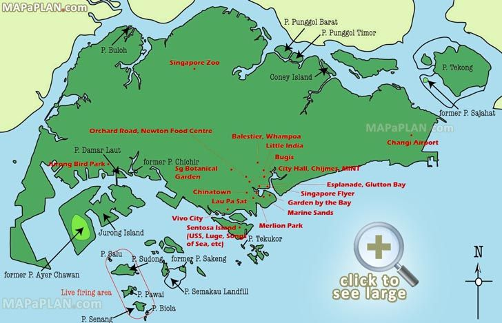 must do destination spots tourism map singapore top tourist attractions map