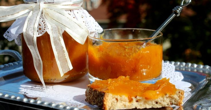 Dýňový džem s karamelem jen ze 4 ingrediencí