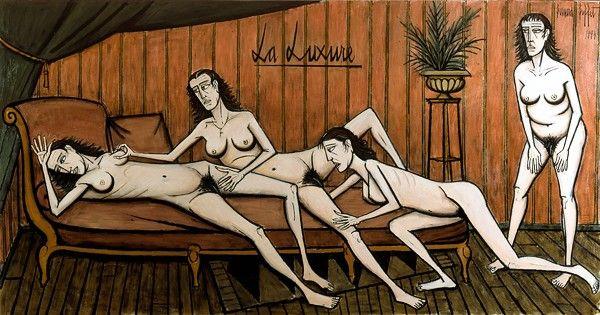 Seven Sins - Zeven Hoofdzonden: Luxaria (Wellust ), Bernard Buffet - Les sept péchés capitaux : La Luxure (1994)