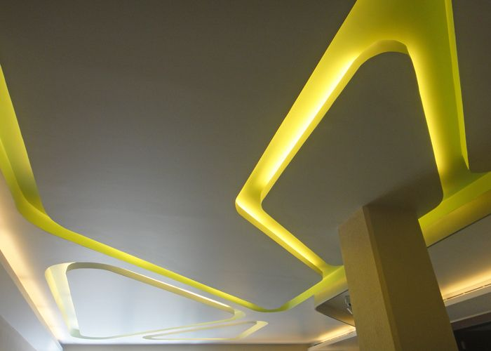 Wall Lights Instead Of Ceiling Lights : 151 best Drywall images on Pinterest Drywall, Tv units and Tv walls