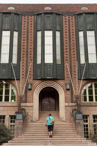 lahti - town hall - Eliel Saarinen
