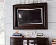 tv frame! Love this idea!