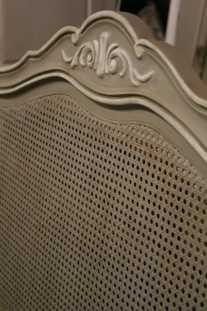 Reloved Rubbish: Vintage Cane Headboard
