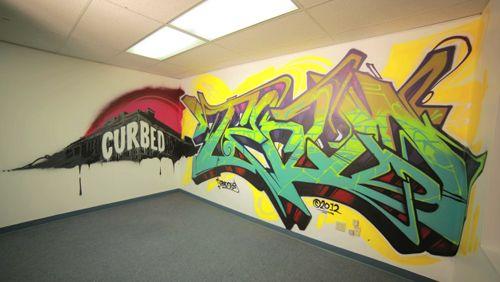 Watch Graffiti Artist TEAD Create A Masterpiece in Our Office!   – Graffiti