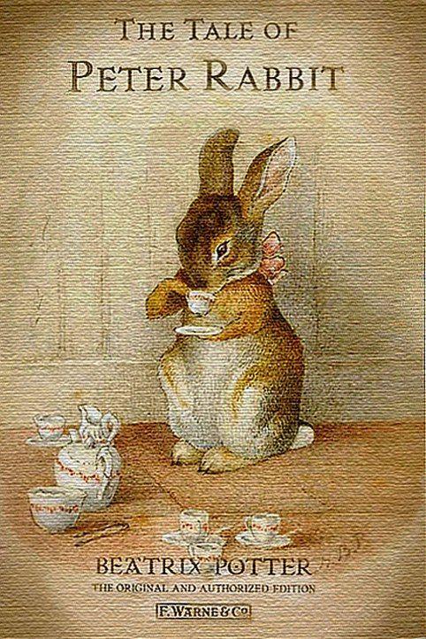 """Шкатулка-книга """"Кролик Питер"""""""