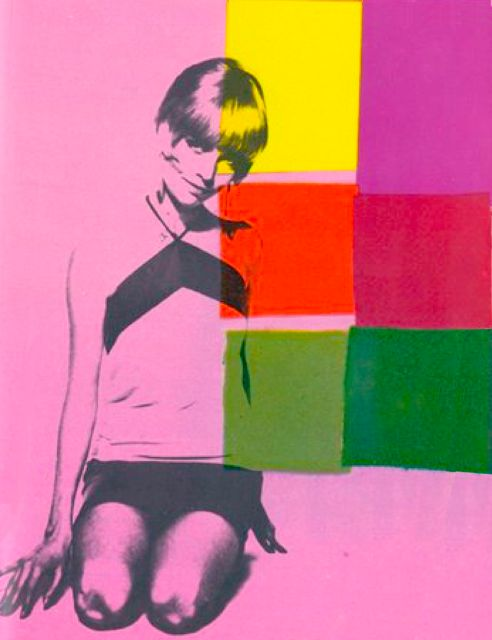 Barbara Feldon, Pop Art by Andy Warhol.