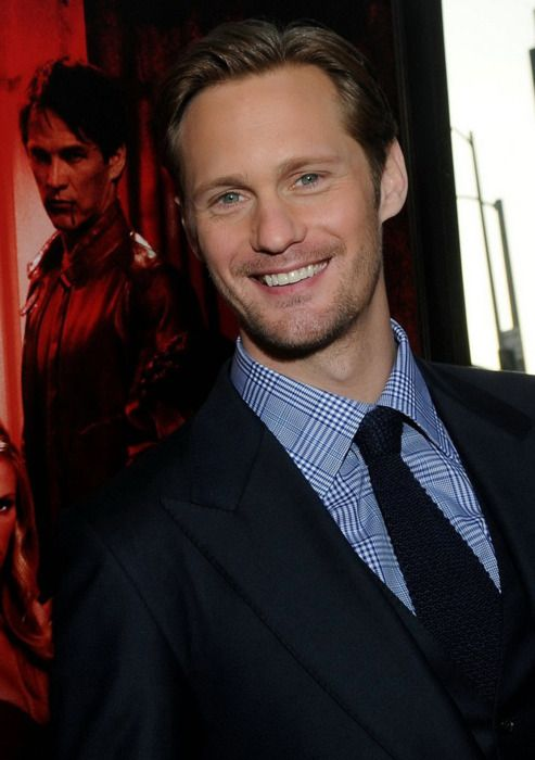 true blood season 7 premiere | HOLLYWOOD, CA – JUNE 21: Actors Alexander Skarsgaard, Anna Paquin ...