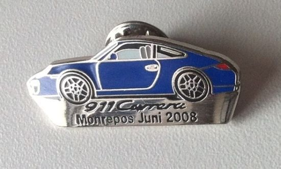 PORSCHE 911 Carrera Monrepos Juni 2008 Pin emailliert