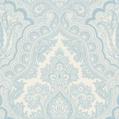 product image for Echo Design™ Paisley Wallpaper Sample in Blue