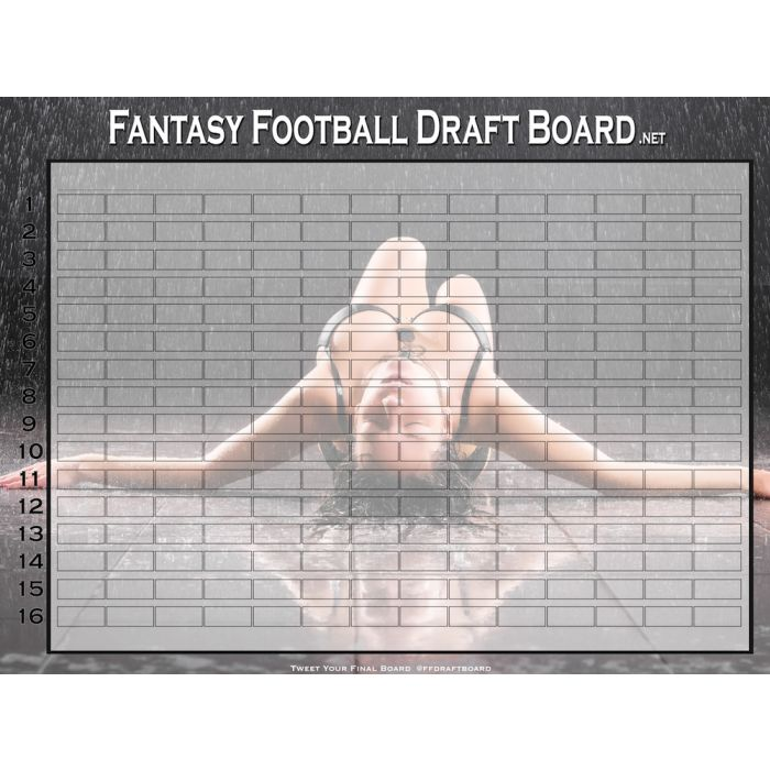 Hall of Fame Draft Board Kit | Premium Fantasy Draft Boards