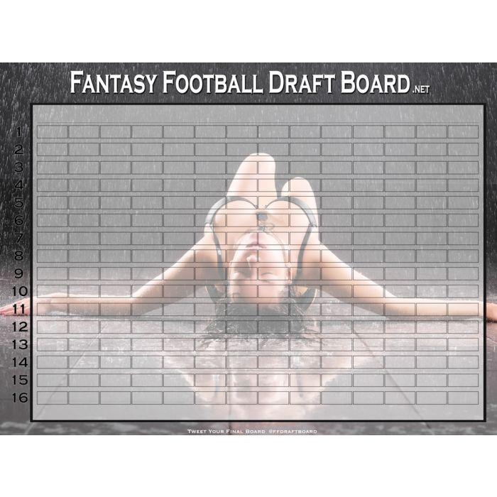 Hall of Fame Draft Board Kit | Premium Fantasy Draft Boards
