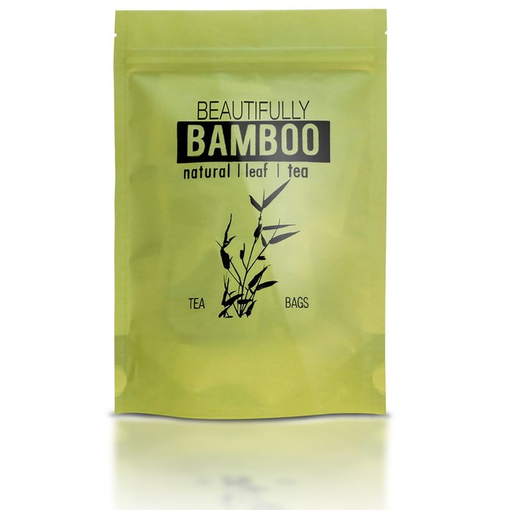 Silica Rich, Organic Bamboo Leaf Tea