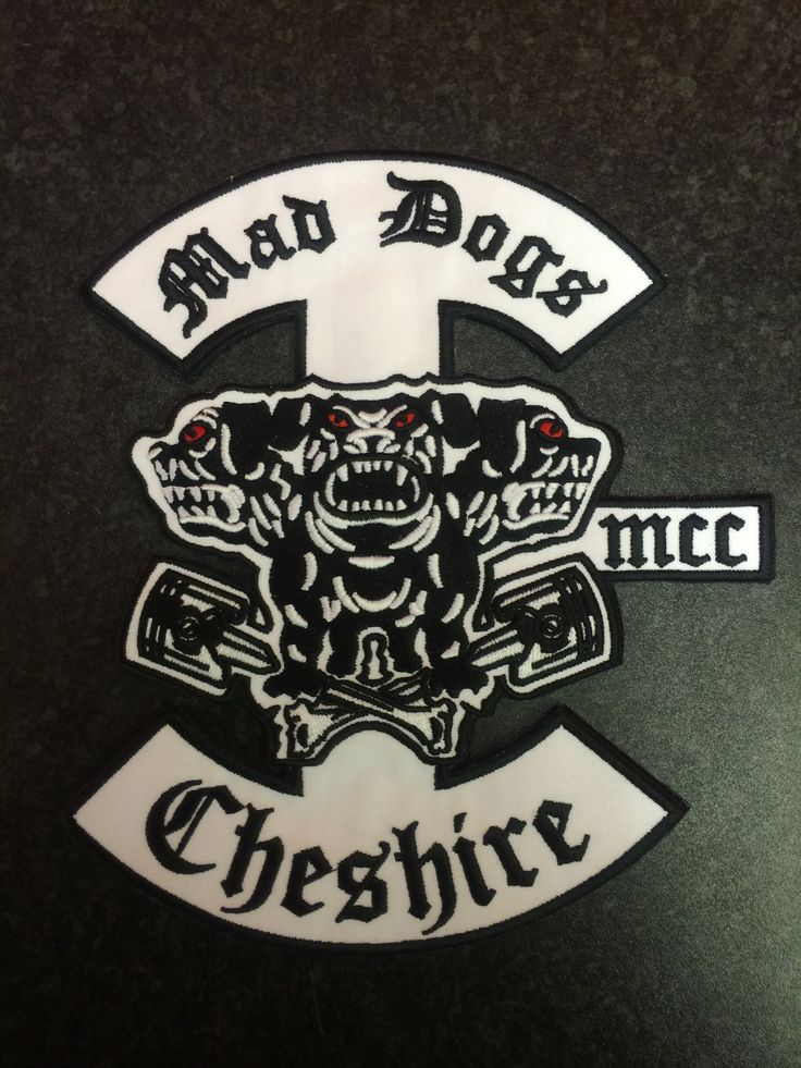 Mad Dogs mcc Motorcycle clubs, Mcs, Diy leather jacket
