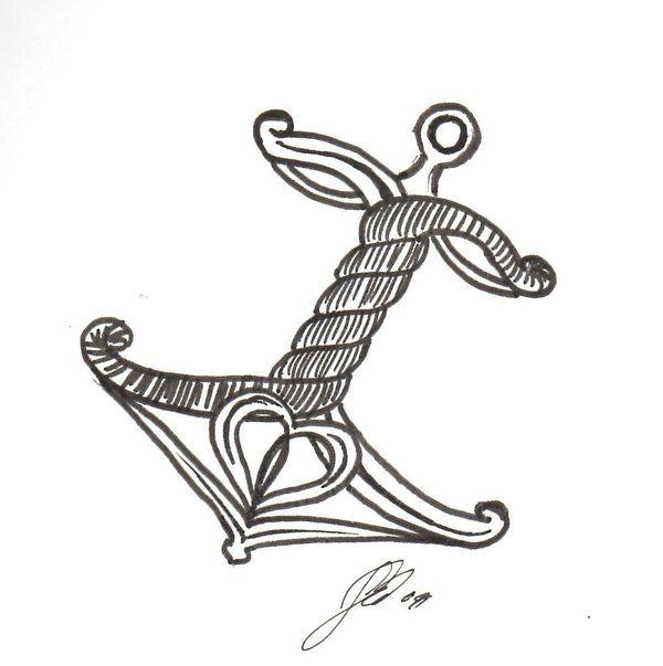 Tattoos of Anchors for Girls | Anchor Tattoo Idea by sabanna on deviantART