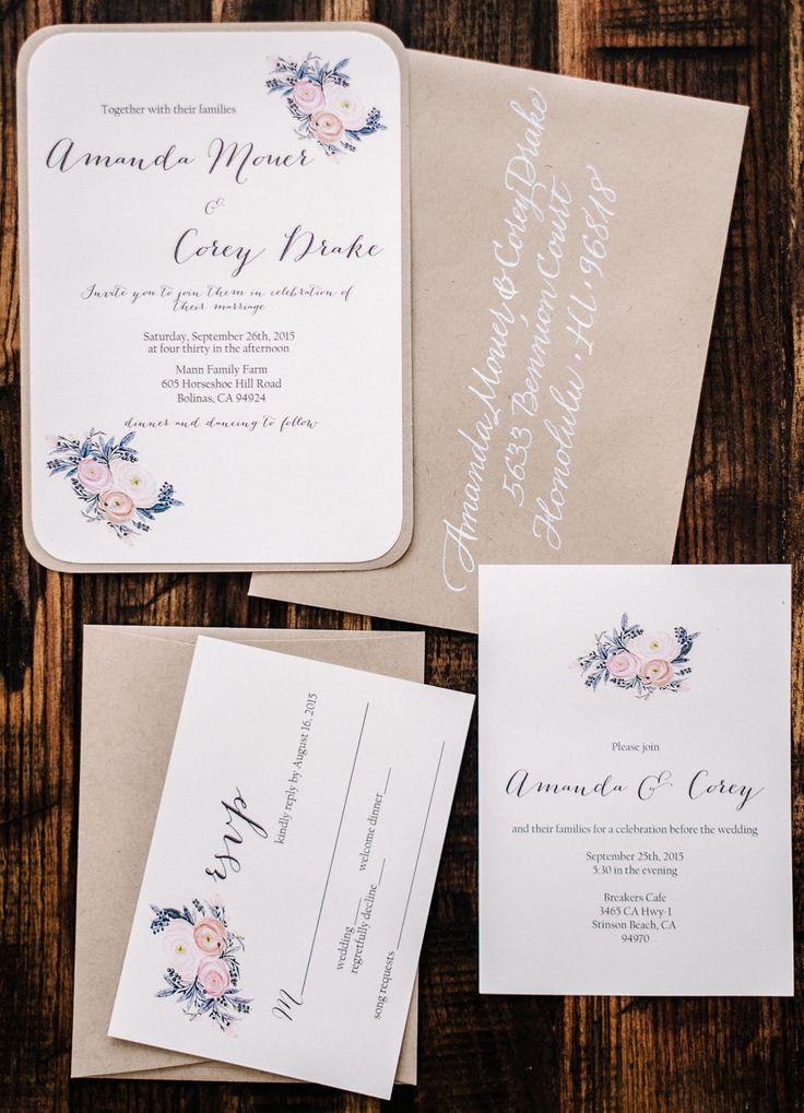 wedding invitations divas%0A floral wedding invitation