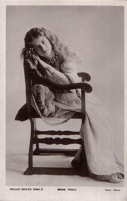 Maude Fealy - Philco 3094c by Maude Fealy Postcard Gallery, via Flickr