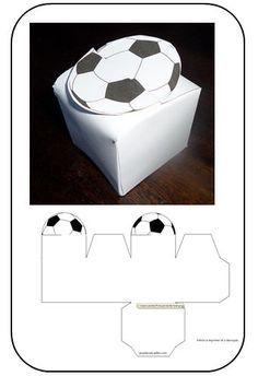 boite ballon de foot - quandjeuxdecolebricole: